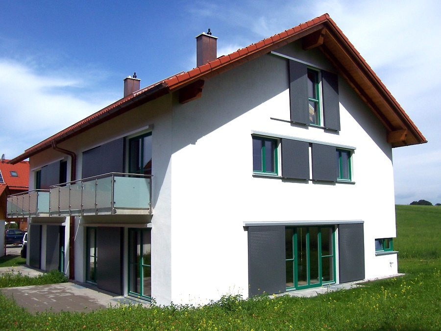 Gerhard schoberth architekt in wolfratshausen for Gunstig bauen mit architekt